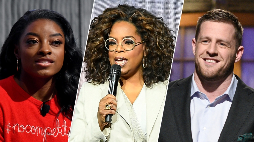 Simone Biles, Oprah Winfrey and J.J. Watt are just some of the celebrities expected to appear in Facebook's live-streamed graduation event for the Class of 2020.
