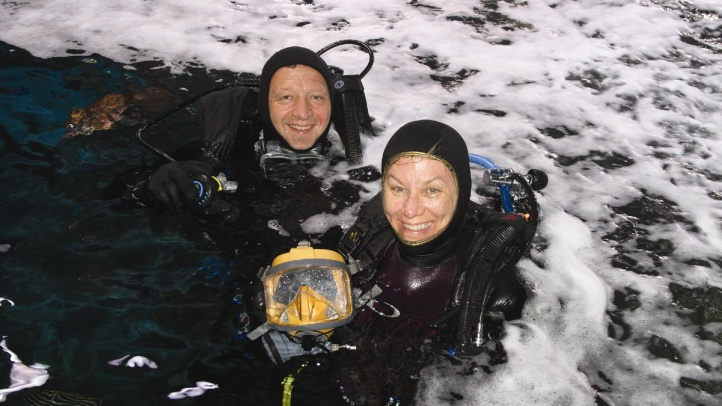 volunteer divers by Andrew Reitsma
