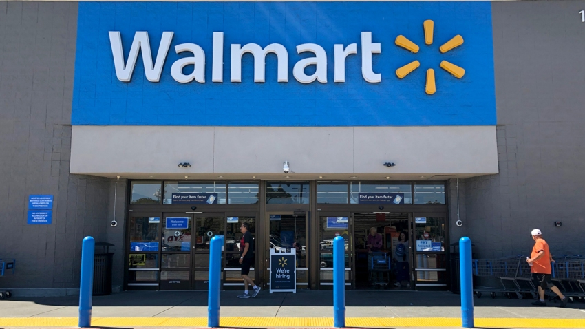 A file photo of a Walmart