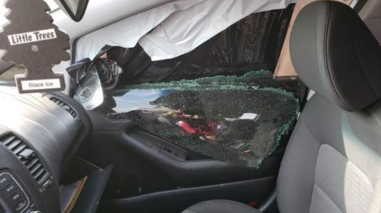 Kia Of Wilmington >> Pictures Show Car After Deputies Open Fire With Rifle and ...