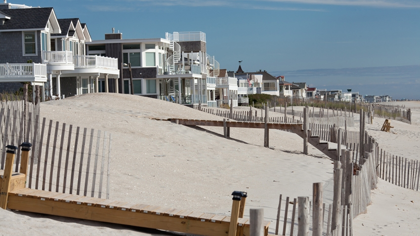 Homes on Long Beach Island