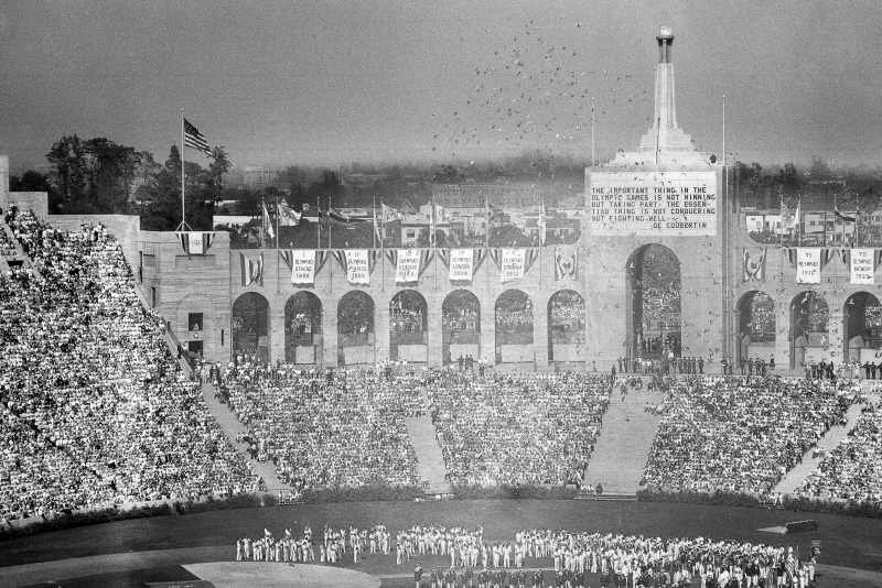 Los Angeles' First Olympics Set Template for Future Games