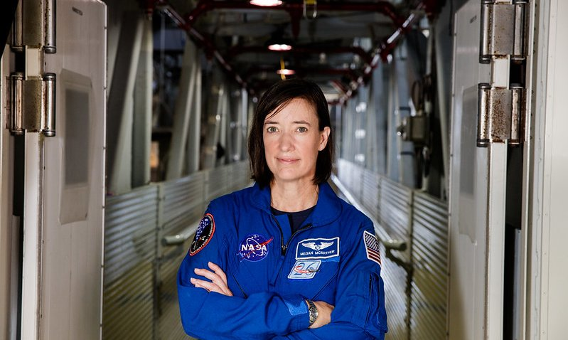 NASA astronaut and UCSD alum Megan McArthur