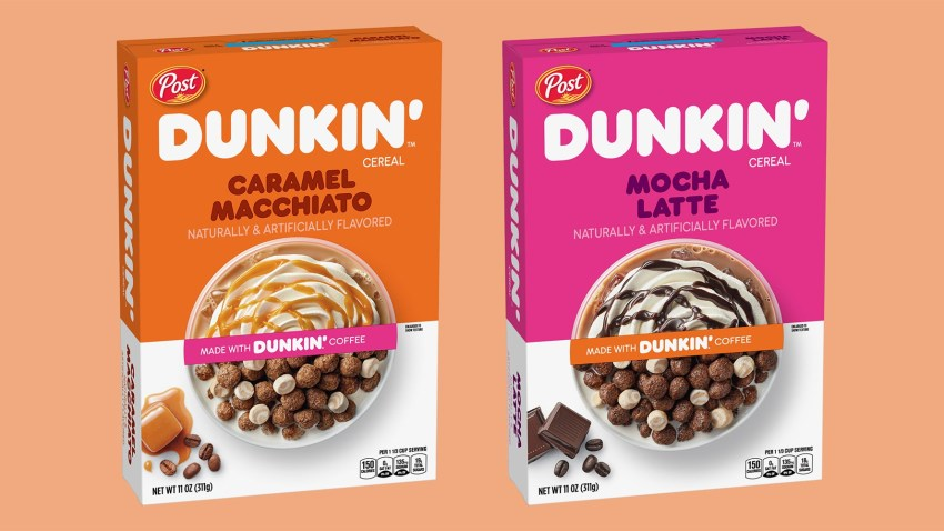 A photo of the new cereals.