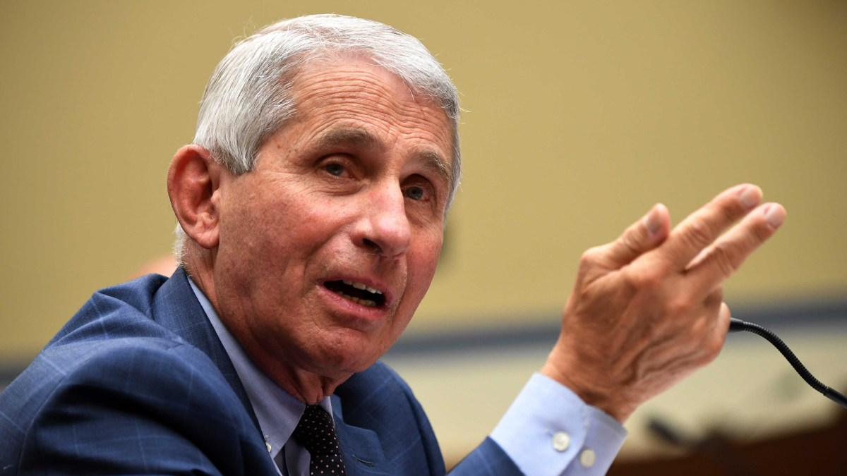 Dr. Fauci Says He's 'Not Comfortable' With Level of US Coronavirus Cases 1