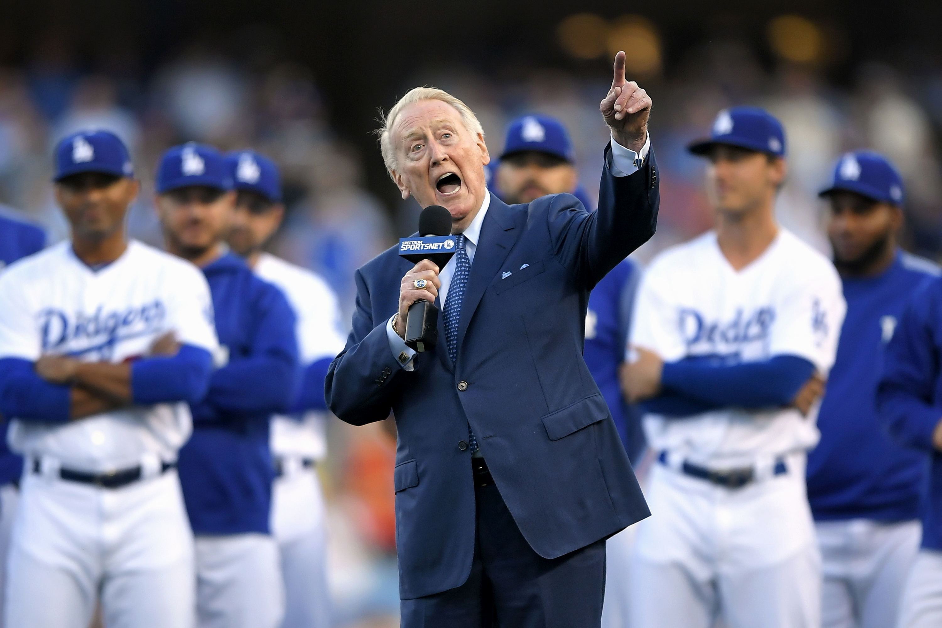 Vin Scully Auctions Off Baseball Memorabilia, Netting More Than $2 Million