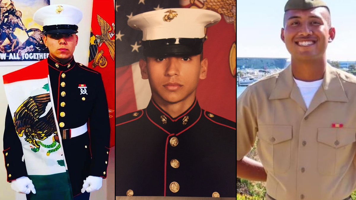 Families Mourn 3 SoCal Marines Killed in Training Accident