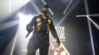 Rapper RZA of Wu-Tang Clan performs during the 36 Chambers 25th Anniversary Celebration at ACL Live on Oct. 7, 2019, in Austin, Texas.