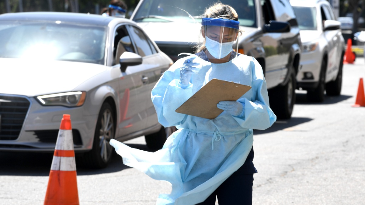 County Opens Free Covid 19 Testing Site At Mexican Consulate In Los Angeles Nbc Los Angeles