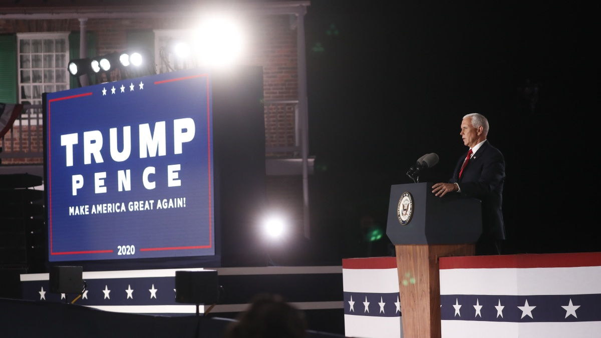 Pence Defends Police at Convention Amid Rising Race Tension 1