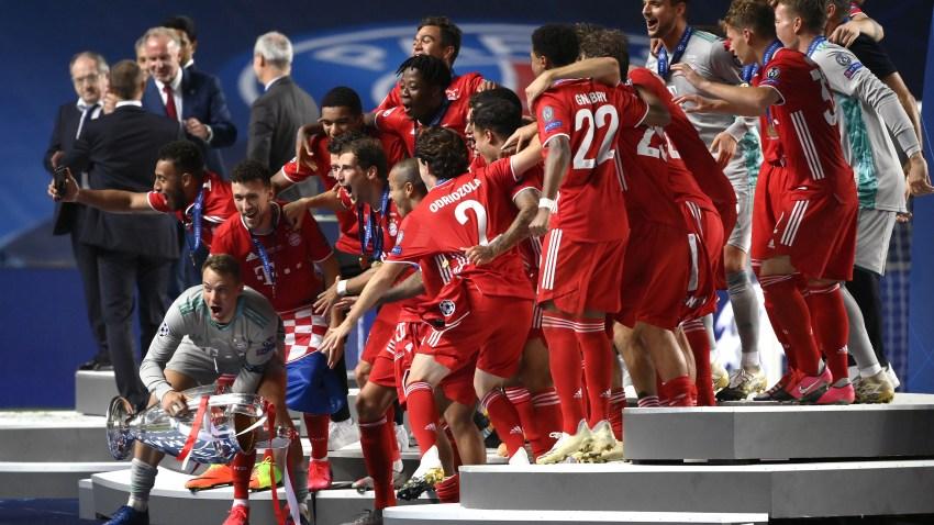 Bayern Beats Paris Saint Germain 1 0 In Champions League Final To Win 6th European Cup Nbc Los Angeles