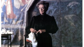 Maggie Smith in a scene from the film 'The Secret Garden', 1993