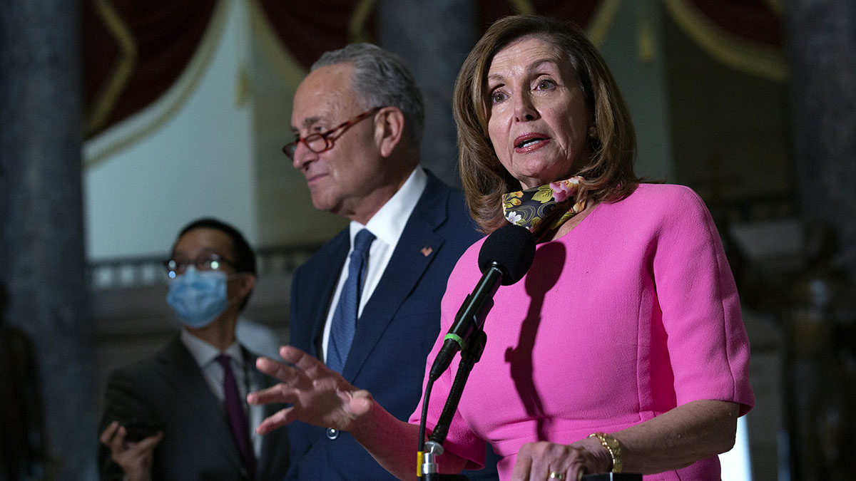 In Virus Talks, Pelosi Holds Firm; Mnuchin Wants a Deal 1