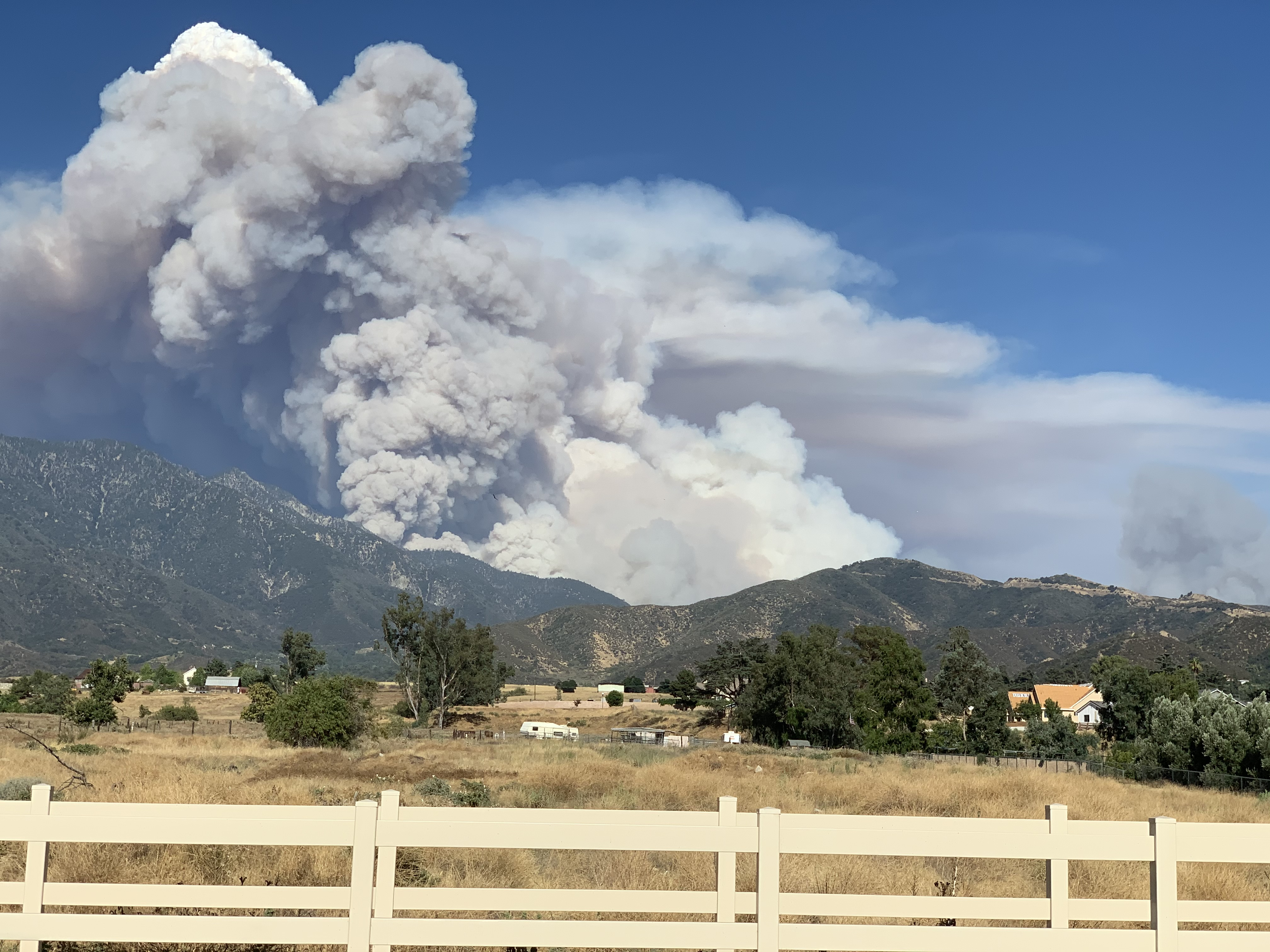 Cause of 26,450-Acre Apple Fire Was Vehicle Malfunction, Fire Officials Say