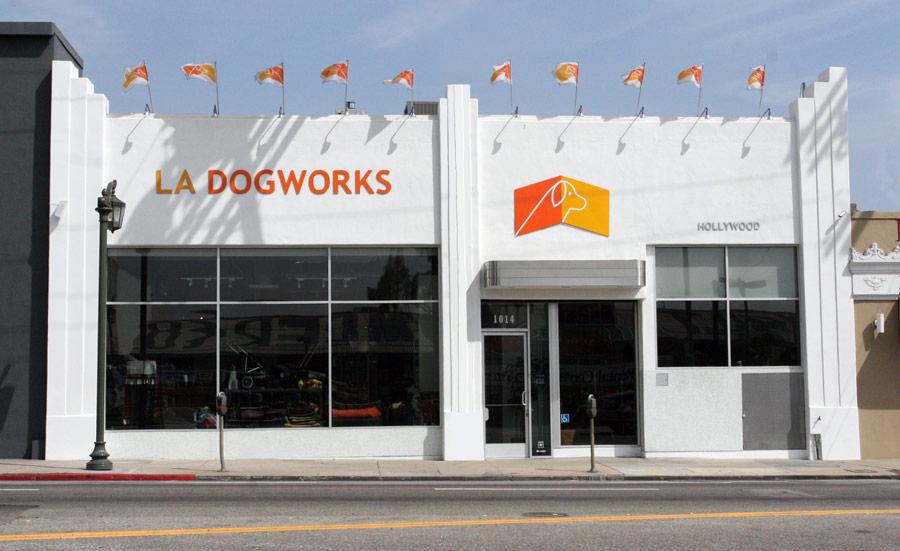 LA Dogworks entrance.