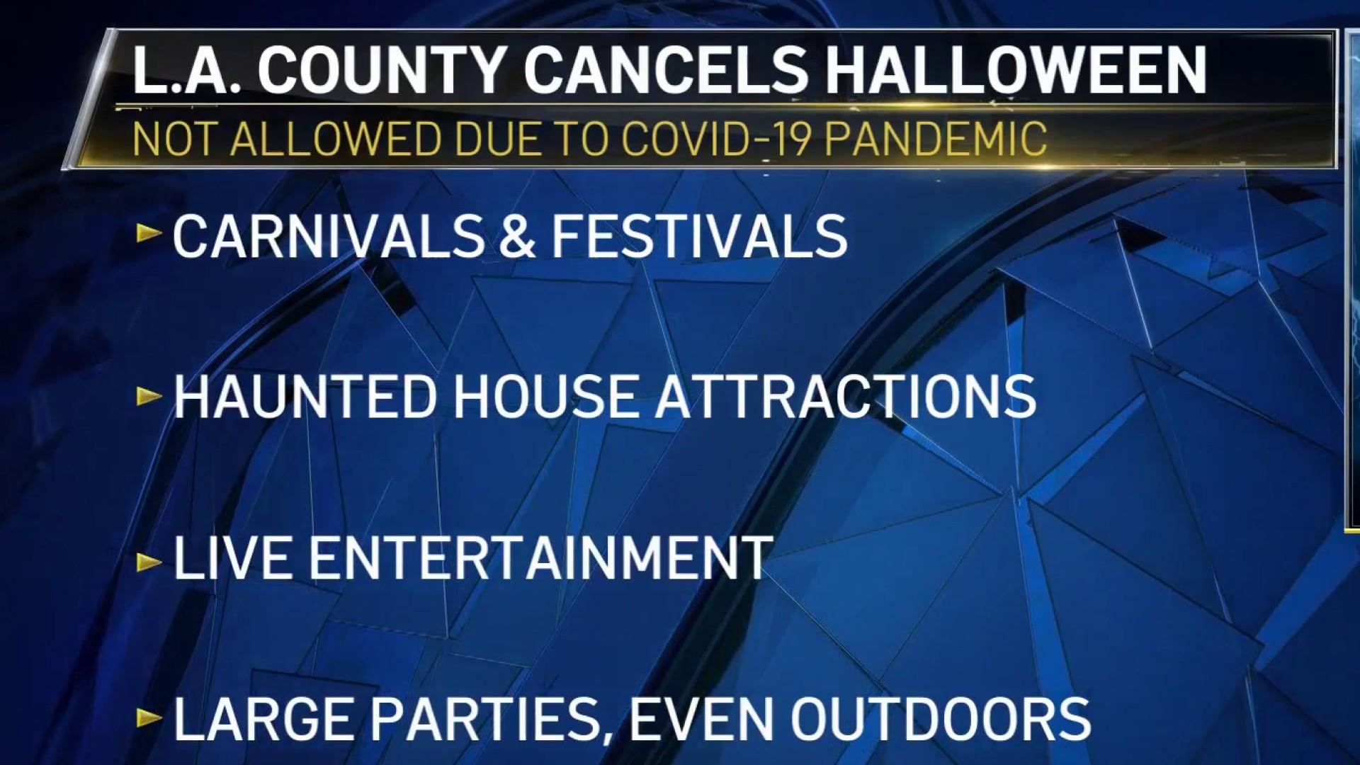 Halloween Bikes Los Angeles 2020 LA County Cancels Halloween – NBC Los Angeles