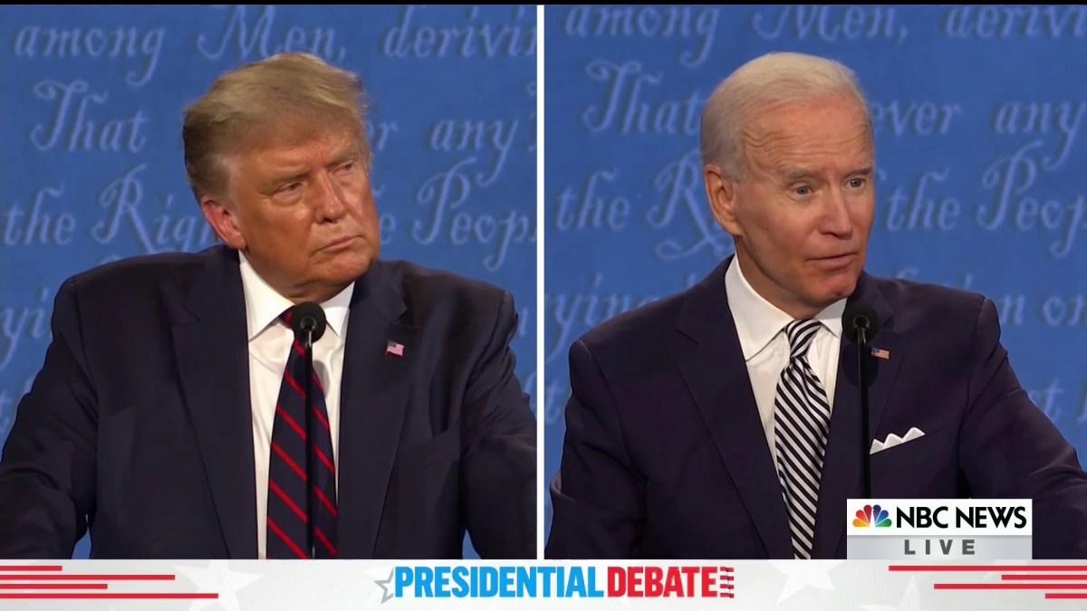 Trump-Biden Debate by Topic: Supreme Court, COVID, More 1