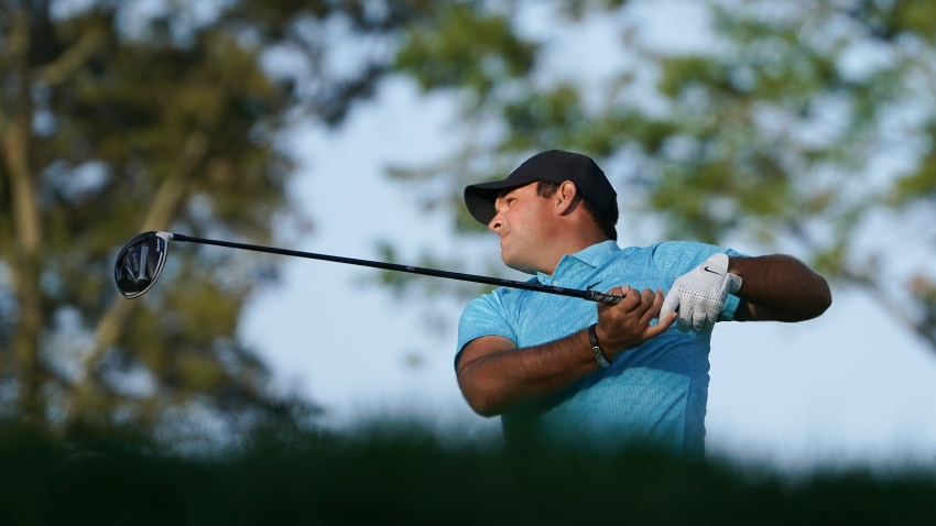 Patrick Reed, of the United States, plays his shot from the sixth tee during the second round of the US Open Golf Championship