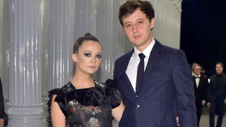 In this Nov. 3, 2018, file photo, actors Billie Lourd (L) and Austen Rydell attend 2018 LACMA Art + Film Gala honoring Catherine Opie and Guillermo del Toro presented by Gucci at LACMA in Los Angeles, California.