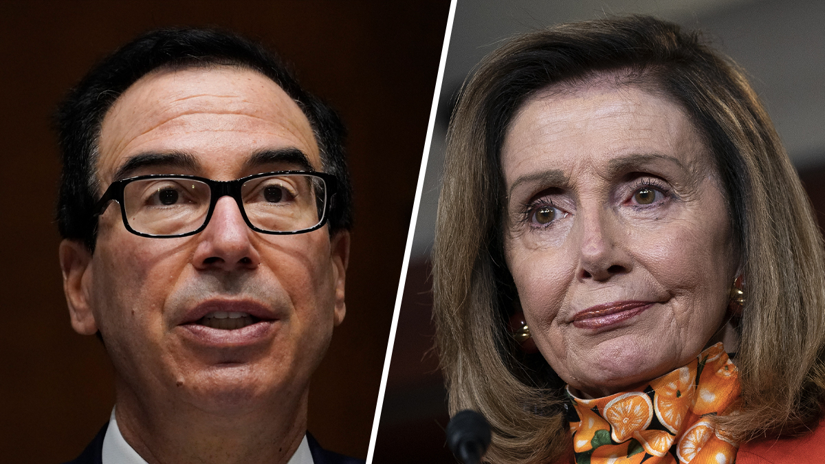 Pelosi, Mnuchin Have 'Extensive' Talks on Coronavirus Relief 1