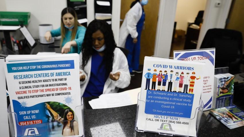 Residents Participate In Pfizer Covid-19 Vaccine Clinic Trial