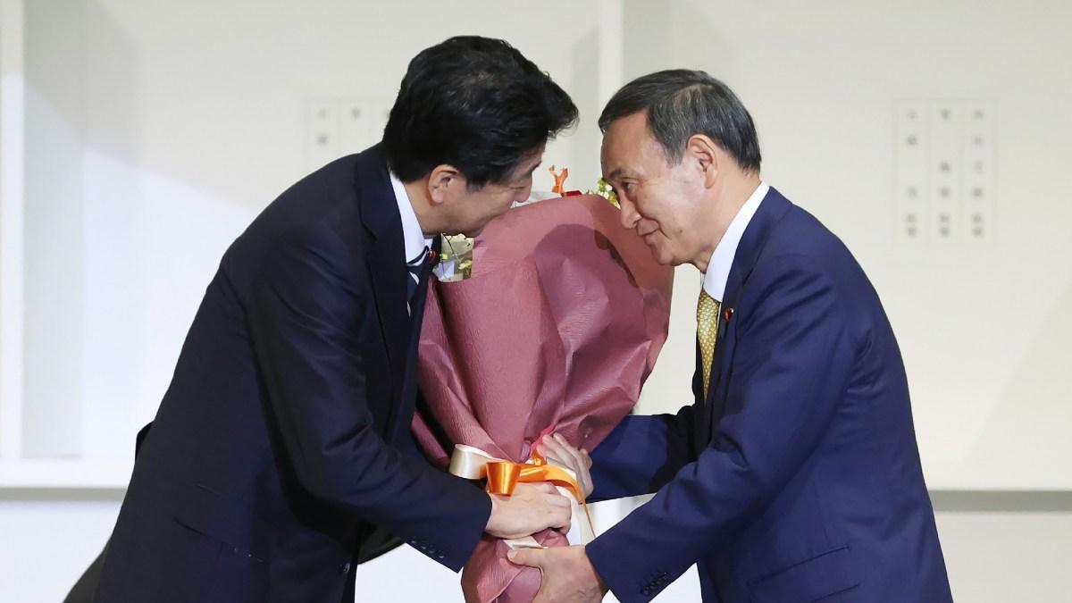 Yoshihide Suga Named Japan's Prime Minister, Succeeding Abe 1
