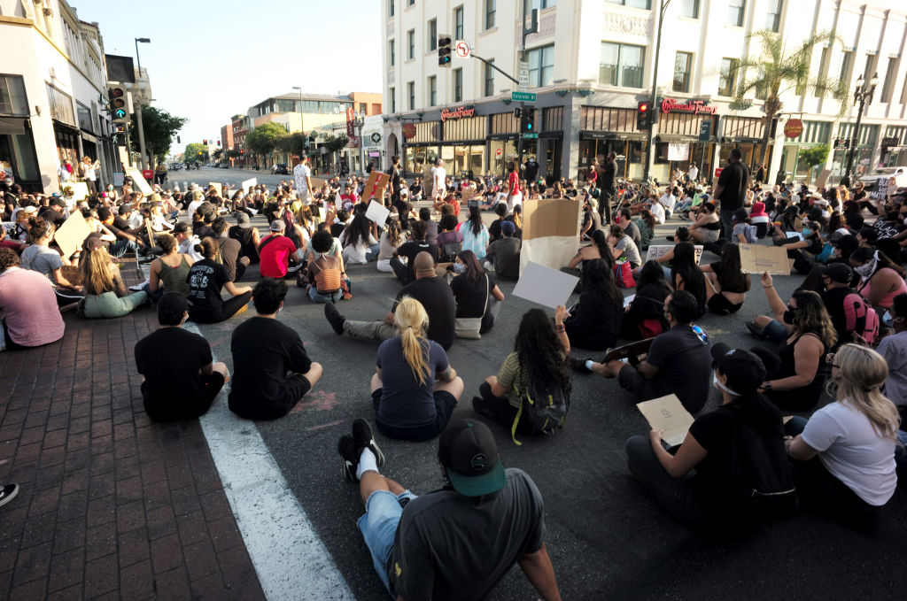 Man Arrested for Driving Truck Into Peaceful Protesters in Pasadena Accused of Gun Crime