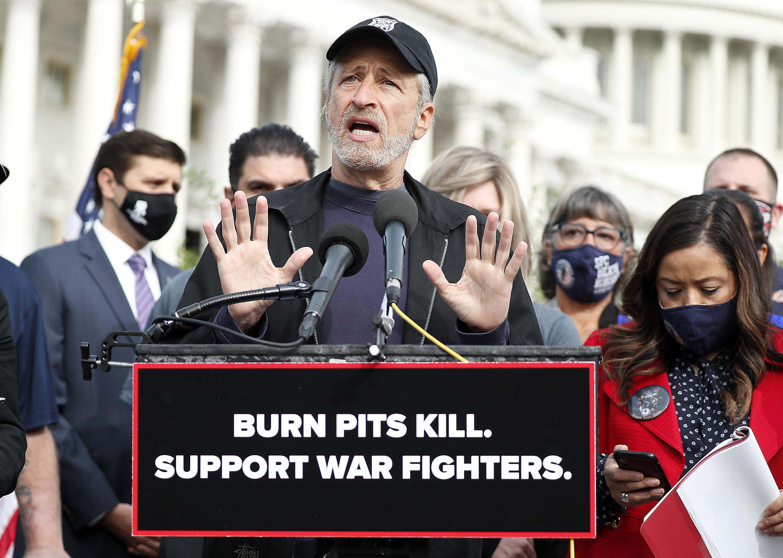 'The Fight Starts Again': Jon Stewart Returns to Capitol ...