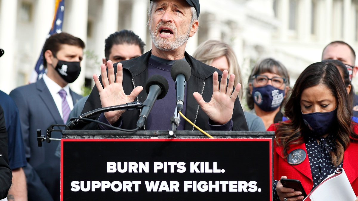 'The Fight Starts Again': Jon Stewart Returns to Capitol Hill 1