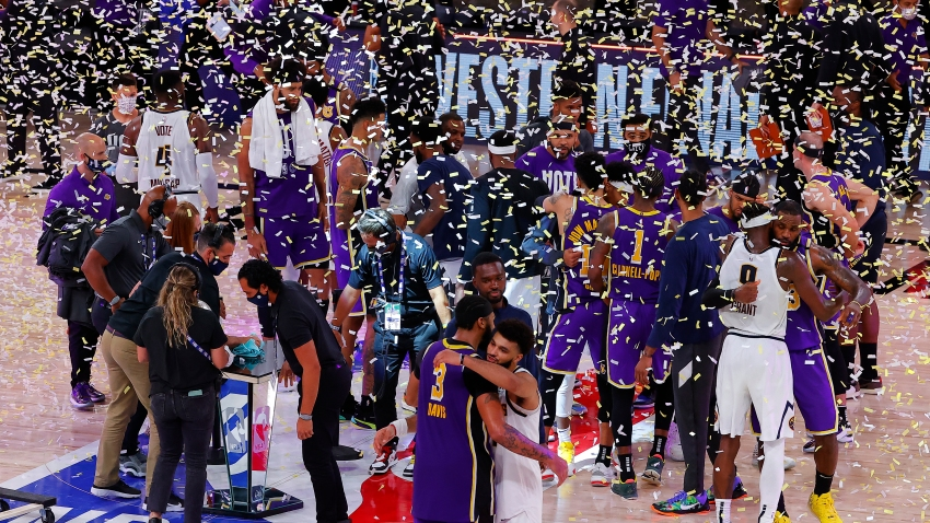 The Lakers Are Champions Again. LeBron James Lifts LA Past ...