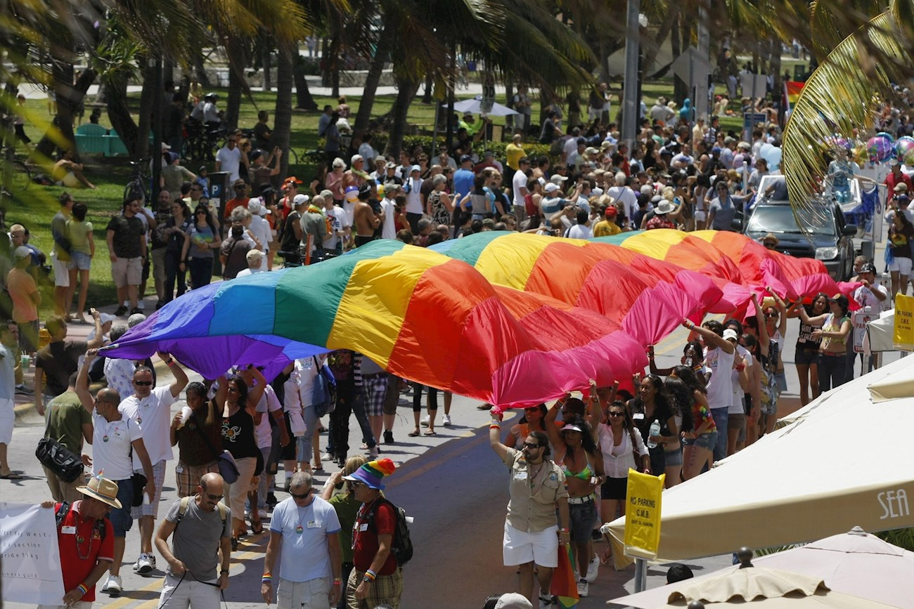 Demonstrators Gathered in LA in Recognition of Transgender Day of Remembrance