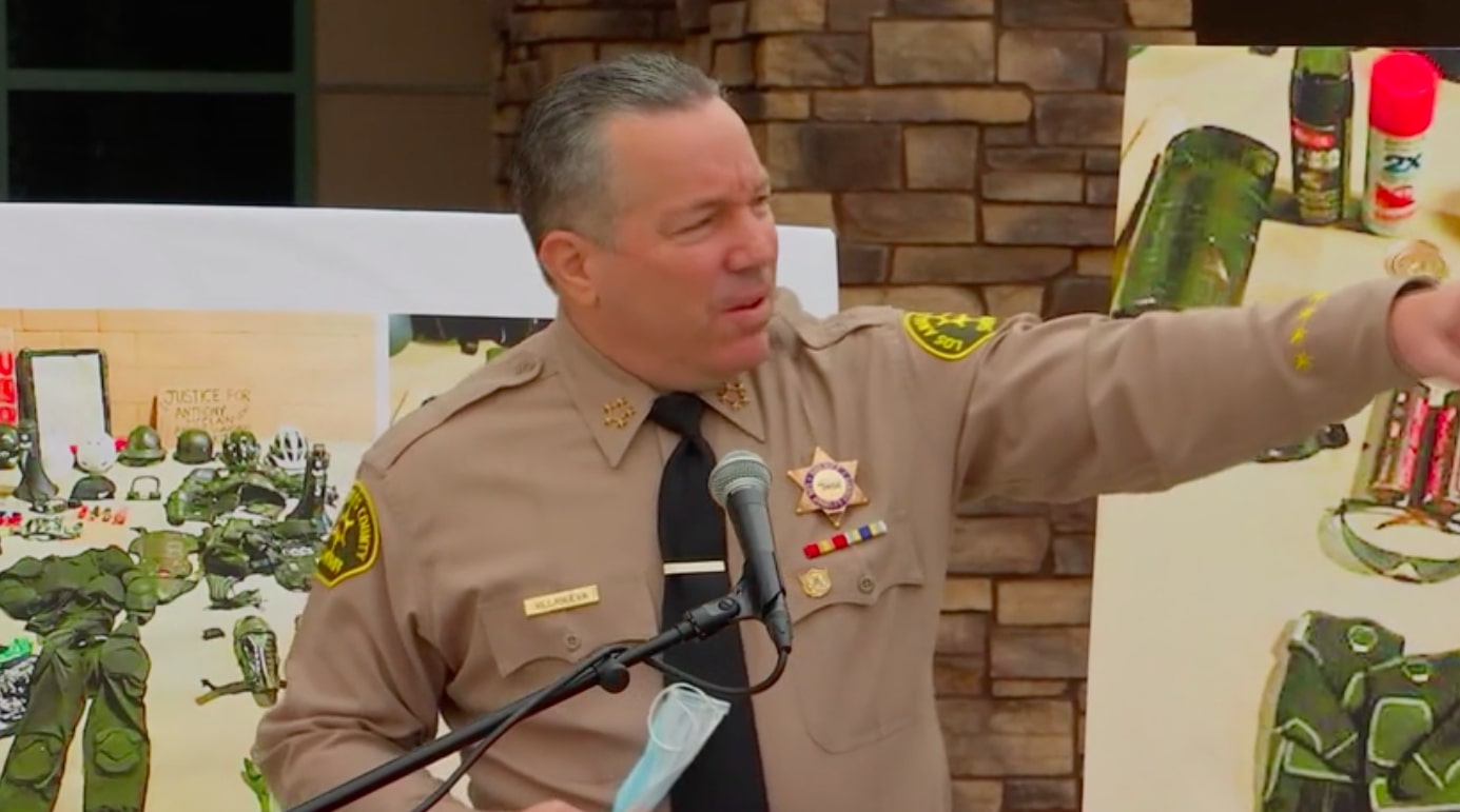 'That's on Her': Sheriff Stands by Arrest of Reporter and Criticizes Sports Figures, Civic Leaders