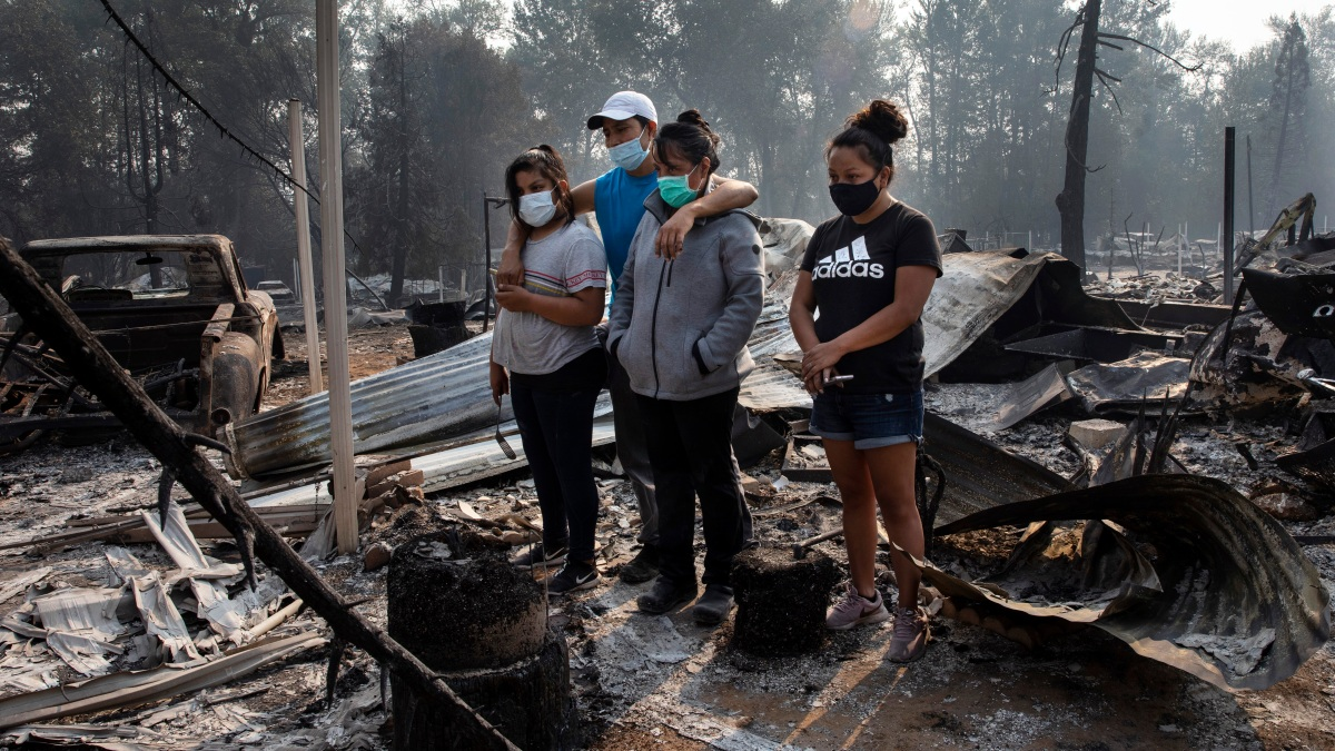 Trump, Biden Facing Off on Wildfires, Climate Change 1