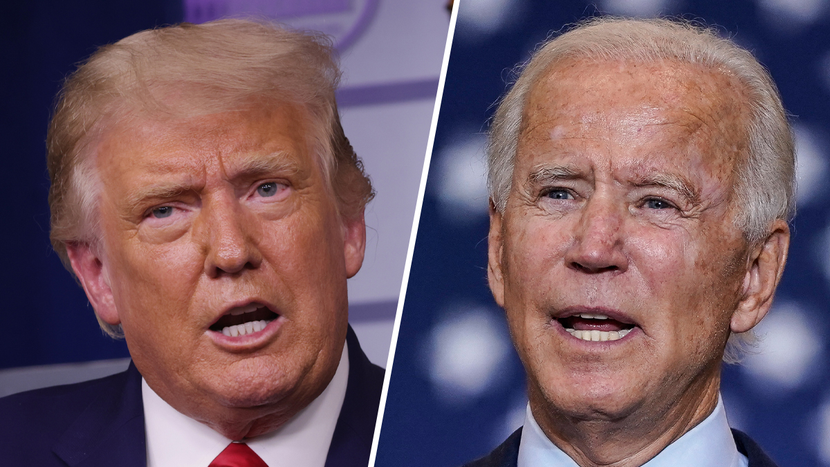 Trump, Biden Go at It — From a Distance — In Town Halls 1