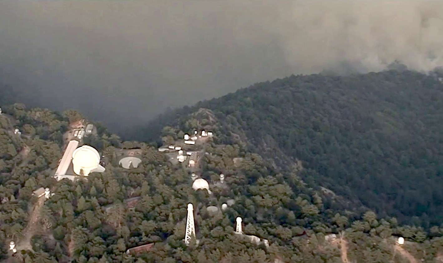 'Knocking on Our Door': Bobcat Fire Burns Closer to Historic Mount Wilson Observatory