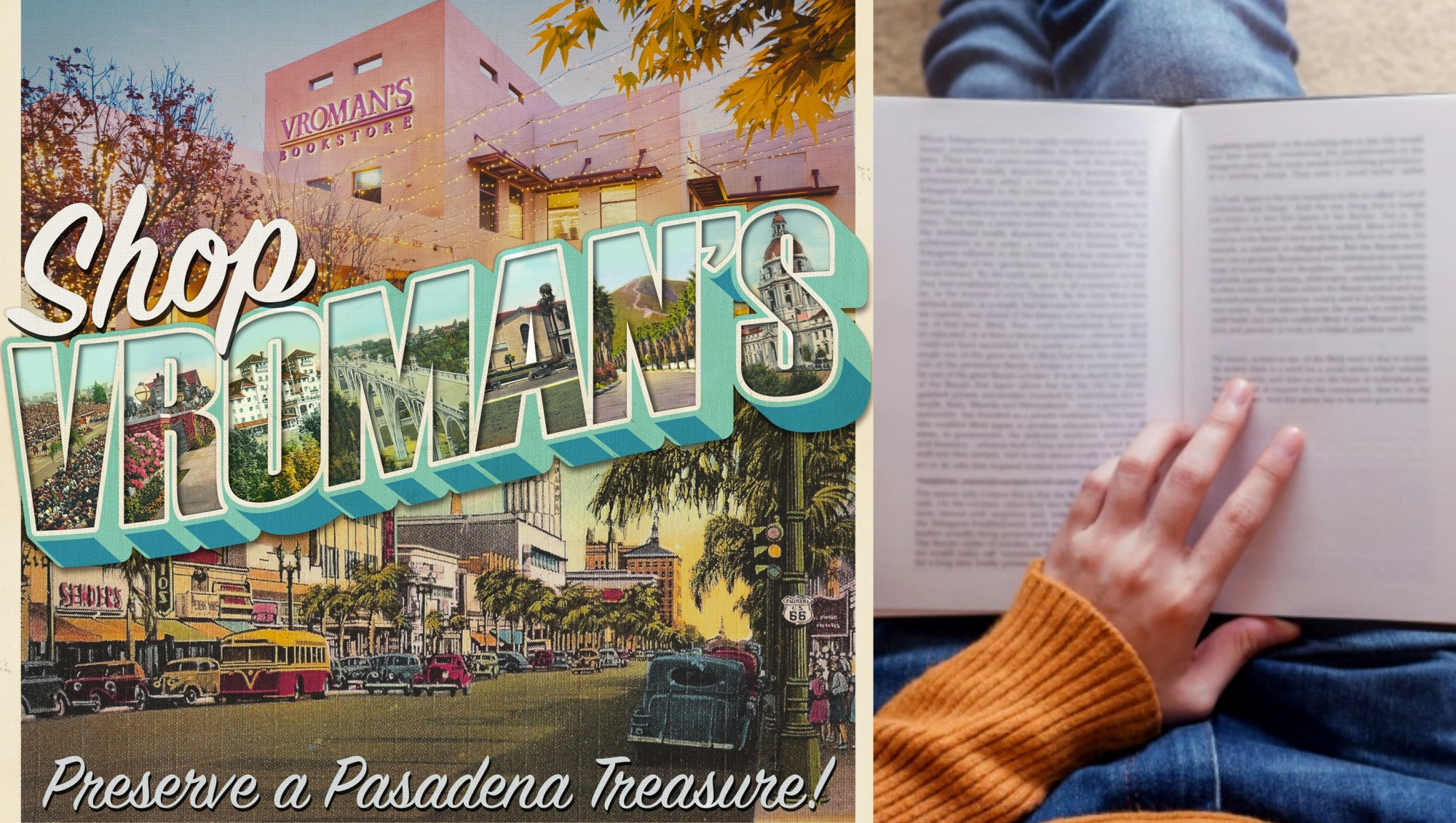 Local Lit Lovers Rally for Vroman's Bookstore – NBC Los Angeles