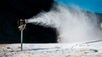 Mammoth Mountain Has Started to Make Snow