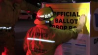 Arson Investigators Looking Into Fire That Started Inside Ballot Box