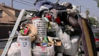 Trash Piling Up During the Pandemic in Los Angeles