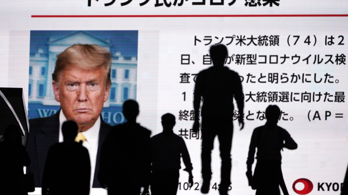 Trump COVID Infection Thrusts World in Uncharted Territory 1