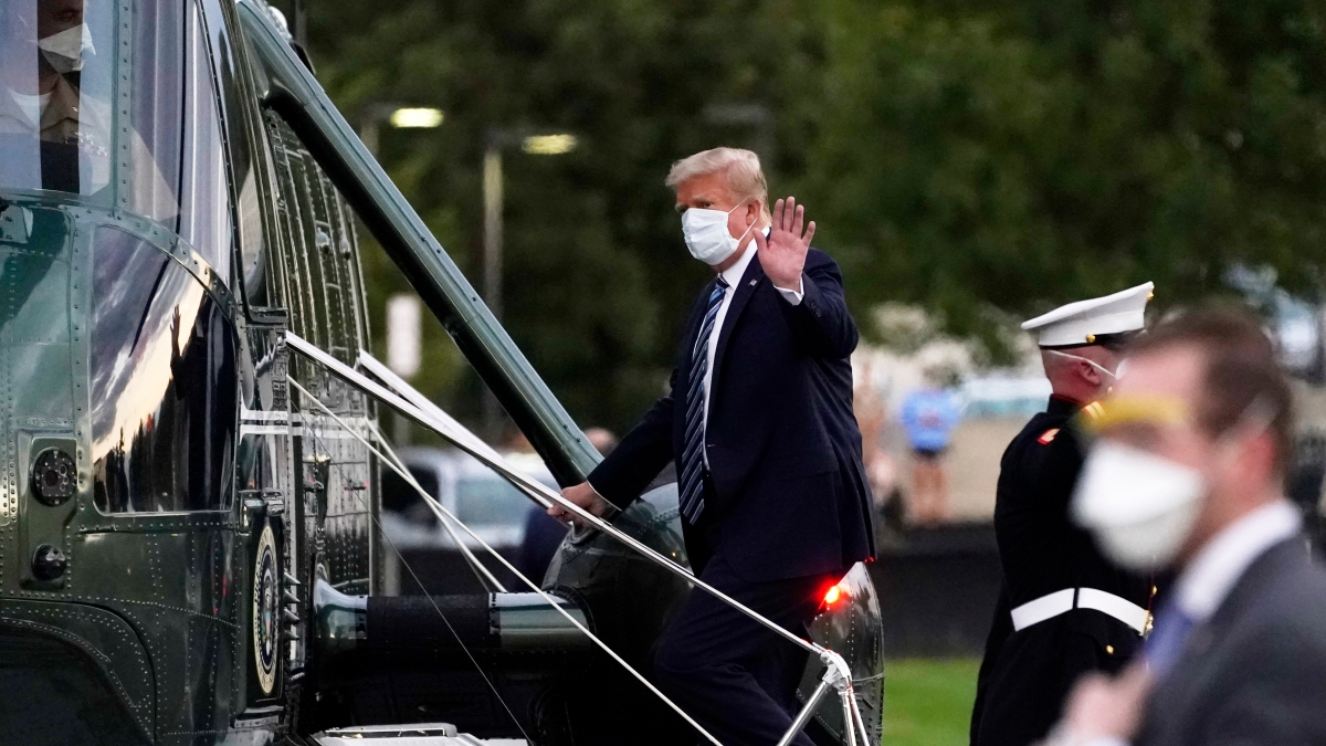 Timeline of Contradictory Statements on Trump's Health 1