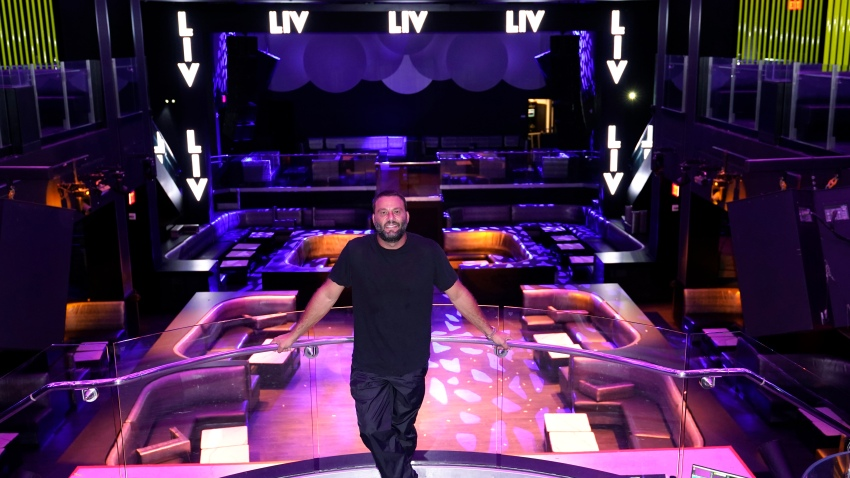 LIV owner David Grutman poses for a photograph at the nightclub