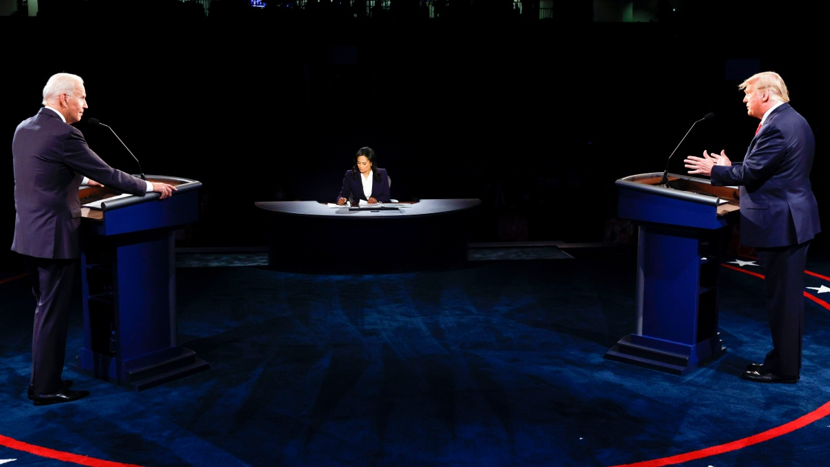 Muted Mics, Unsubstantiated Claims: Key Exchanges During Presidential Debate 1