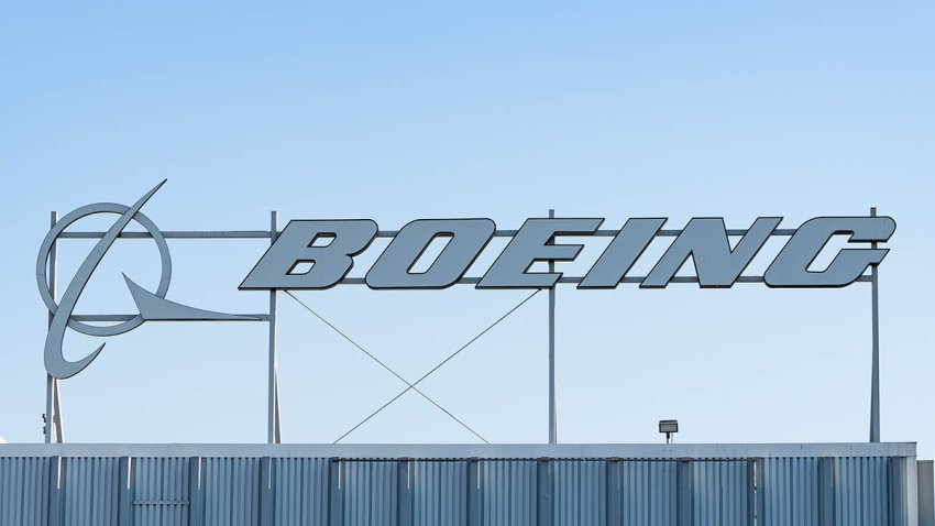 The Boeing Company building in El Segundo, California, Aug. 27, 2020.