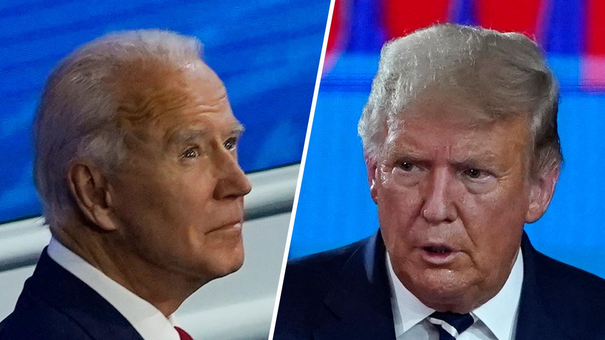 Fact Check: Rhetoric From Trump, Biden in the Non-Debate 1