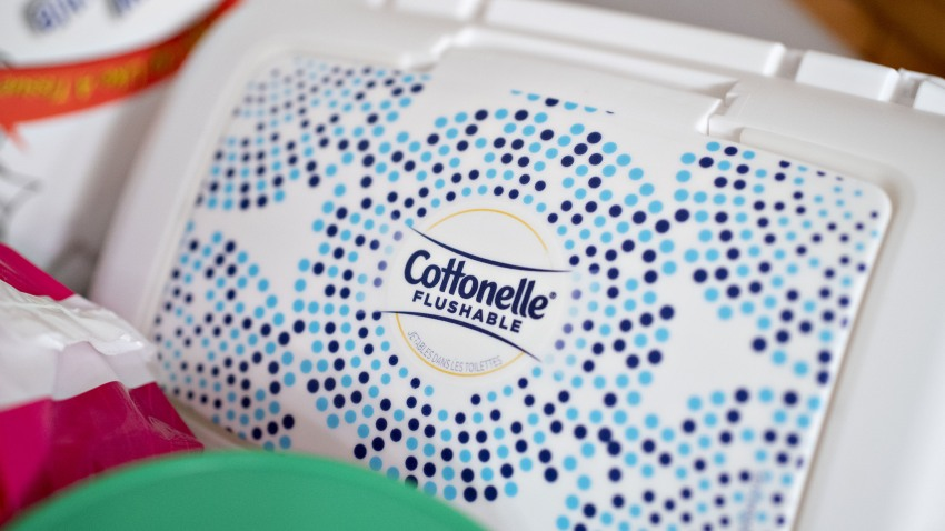 Cottonelle brand flushable wipes