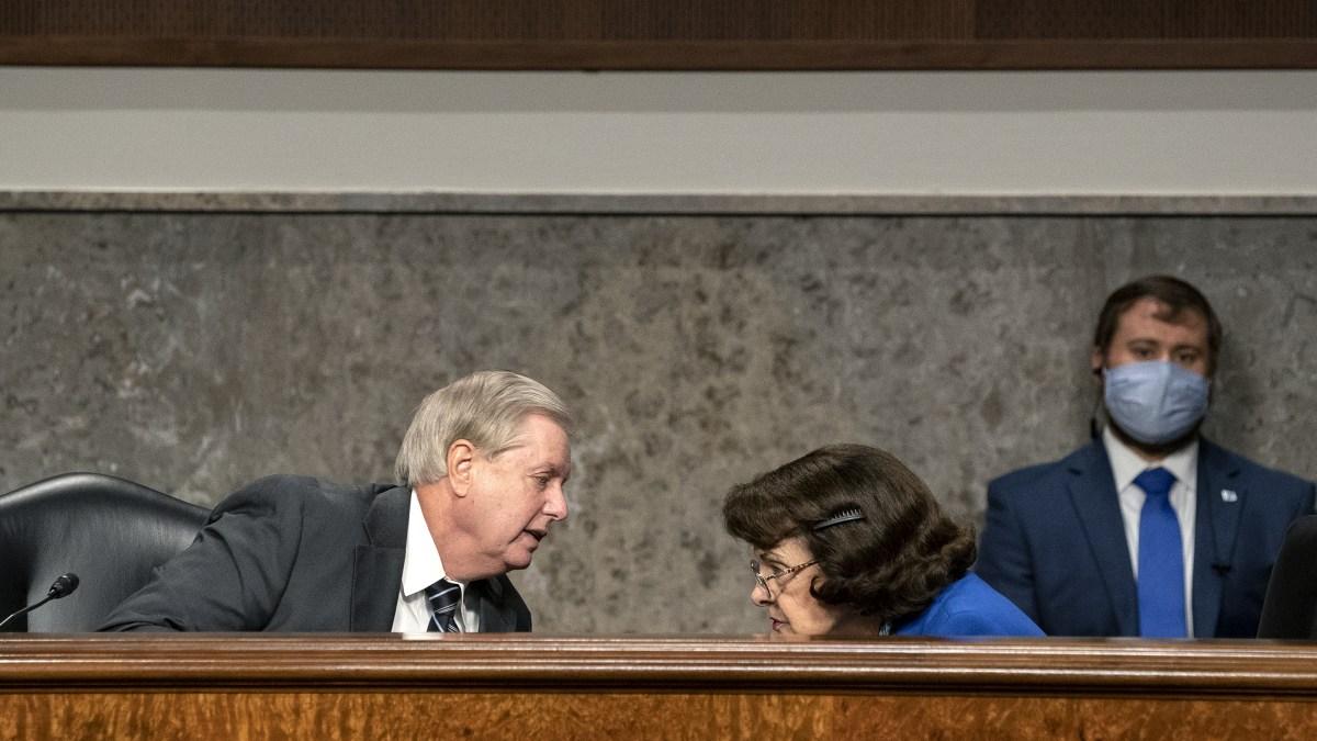 Graham, Harris Share Spotlight as Barrett Hearings Begin 1