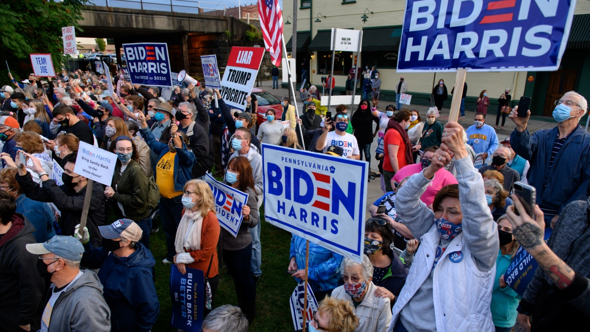 After Pandemic Delay, Biden Launching In-Person Canvassing in Key States 1