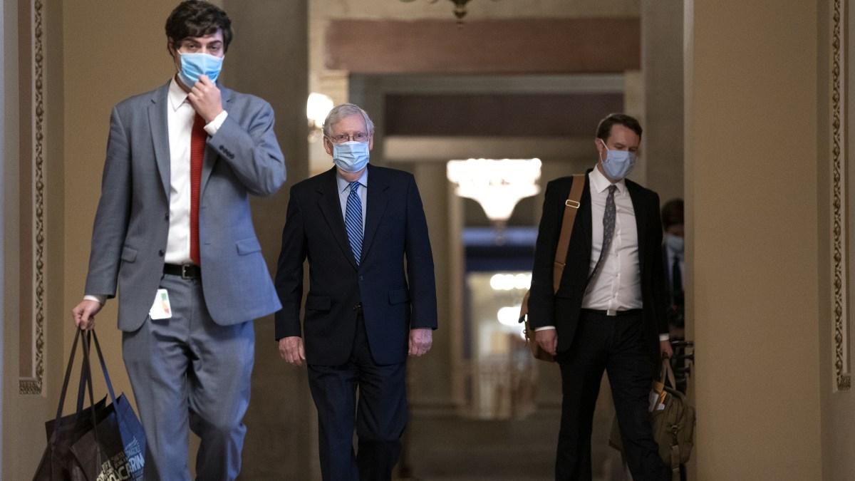 GOP Seeks to Pause Senate Work, But Not Barrett Hearings 1