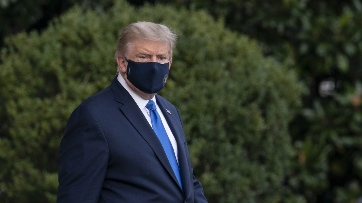 Doctor: Trump Improving, But Not 'out of the Woods' Yet 1